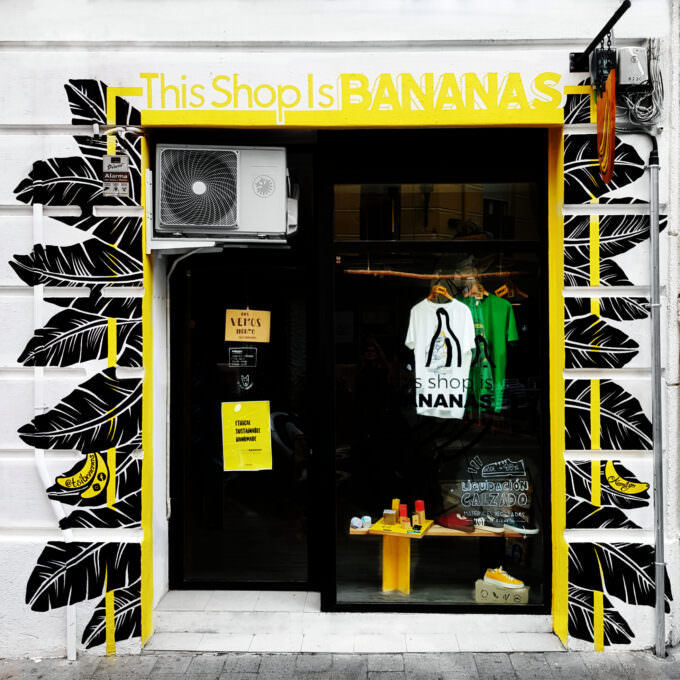 This Shop Is Bananas