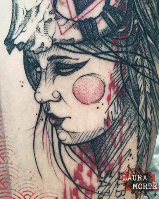 Dark Tattoo-Trash Polka Tattoo-Laura Morte