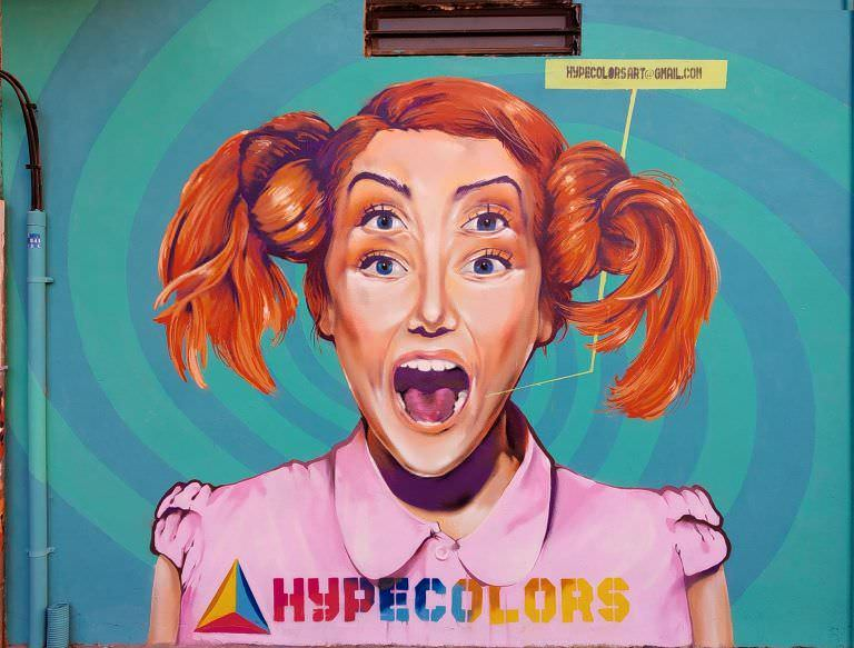 Graffiti comercial en Pamplona-hypecolors-david vicent san martin