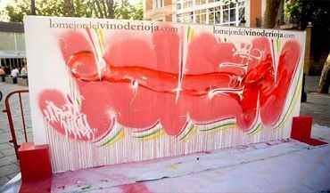 Mural Vino joven