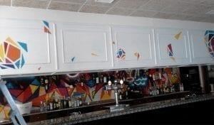 Graffiti profesional - Bar skina
