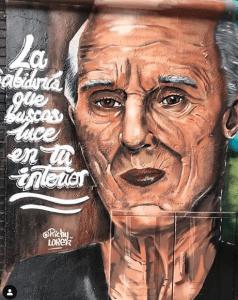 Graffiti Comercial en Guadalajara - Sabiduría