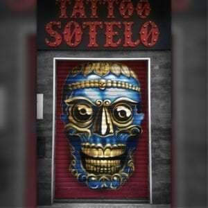 Graffiti mural - Estudio de tatuajes Sotelo