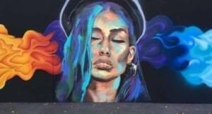 Graffiti mural - Muales: Retratos artísticos