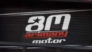 Graffiti profesional - Murales: Realizamos la decoración integral de la nueva tienda de motos Arimany.