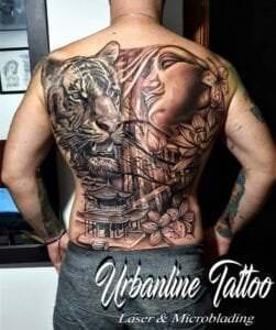 Estudios de Tatuajes en Huelva - Últimos trabajos