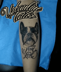 Tattoo Bulldog francés - Tattoo bulldog frances