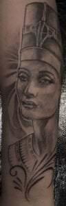 Tatuajes egipcios - Tatuaje faraona egipcio