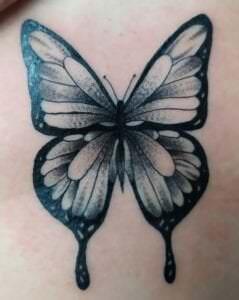 Tatuajes de mariposas - Tatuajes mariposa