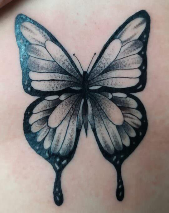 Tatuajes mariposa