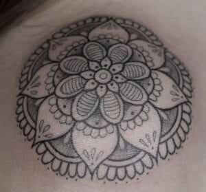 Estudios de Tatuajes en A Coruña - Tatuaje mandala