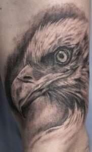 Estudios de Tatuajes en A Coruña - Tatuaje águila