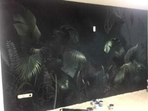 Grafiteros a domicilio - Decoración Mural con temática selva