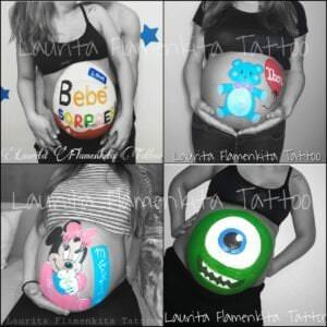 Body painting en Bilbao - Bellypaint