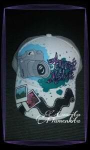 Graffitis - Gorras pintadas a mano