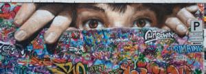 Graffiti profesional - Mural de 8×3 en Tromso Noruega