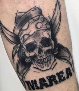 Tatuajes de piratas - Tatuaje Marea
