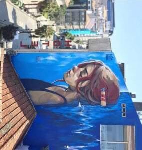 Graffiti mural - Mural festival arte urbano Vigo
