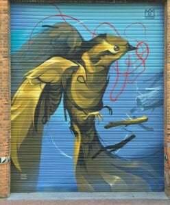 Graffiti profesional - Mural para el fiestival de Picassent: Cromápica