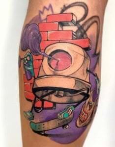 Tatuajes originales - Tatuaje boquilla de spray