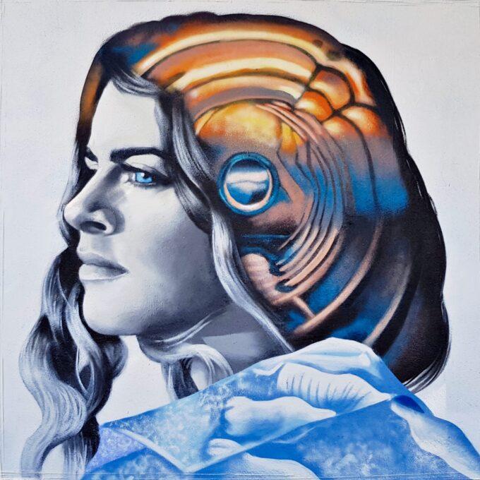 Deep look at the plastic ocean - Mural para el Cultura Inquieta Urban Fest