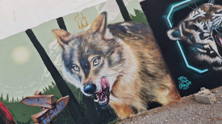 Graffiti lobo
