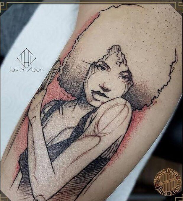 Tatuaje ilustración