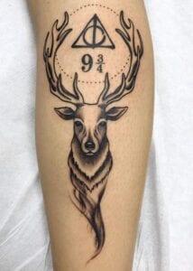Estudios de Tatuajes en Salamanca - Tatuaje de Ciervo