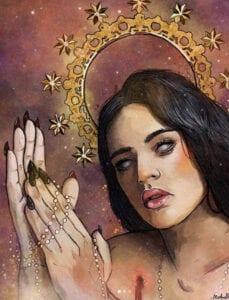 Estudios de Tatuajes en Granada - Rosalia: Ilustración digital