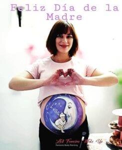 Belly Painting en Málaga - Pintura para embarazadas