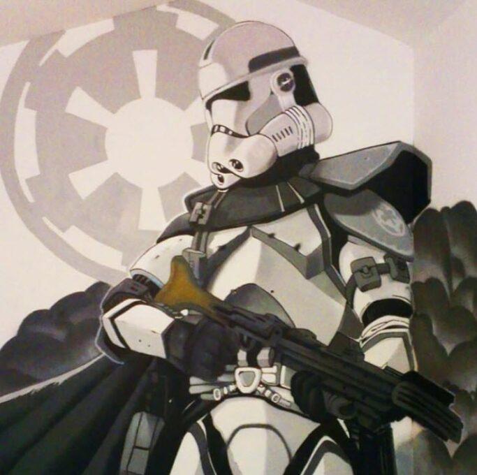 Graffiti Star Wars