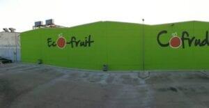 Graffitis - Fabrica con graffiti