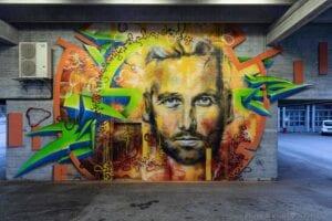 Graffiti comercial en Sevilla - Mural