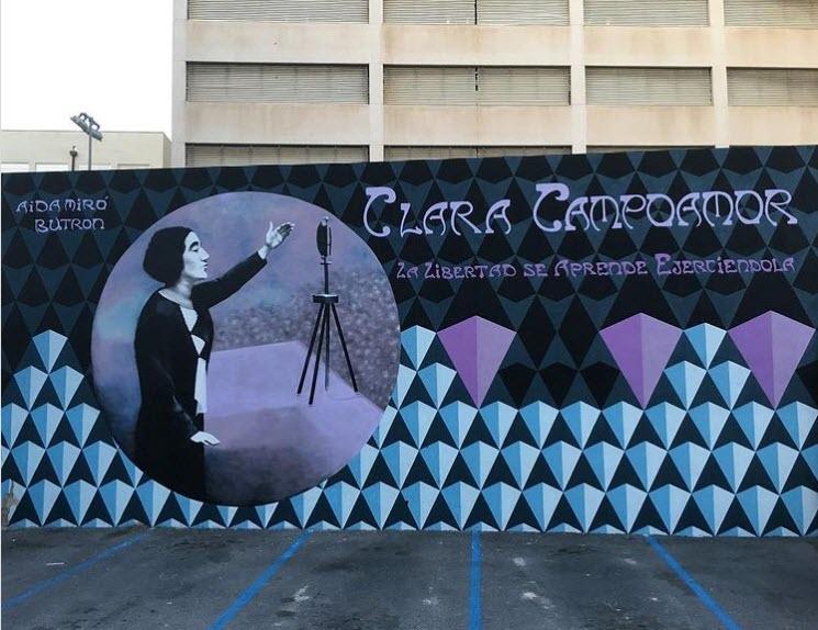 Mural Clara Campoamor