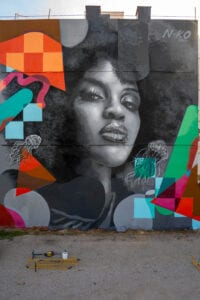 Graffiti profesional - Mural: Concurso Intervención Urbana en Torrent, Valencia