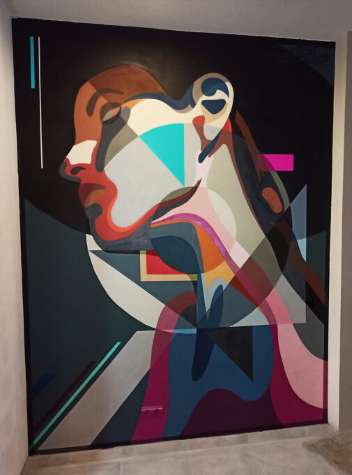 Mural abstracto