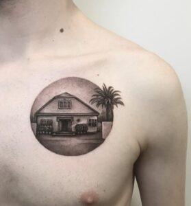 Hombres tatuados - Tatuaje casa
