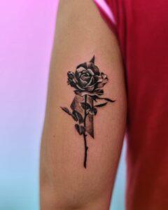 Tatuajes - Tatuaje Rosa