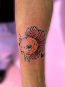 Tatuajes de Peces - Tatuaje a color