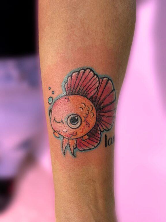 Tatuaje a color