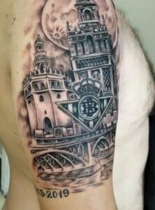 Tatuajes en el brazo - Tatuaje Betis
