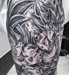 Tatuajes - Tatuaje de Dragon Ball Z