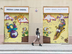 Habitaciones con graffitis - Media Luna Skool