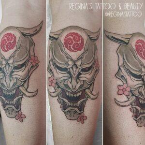 Tattoo Japonés - Oni