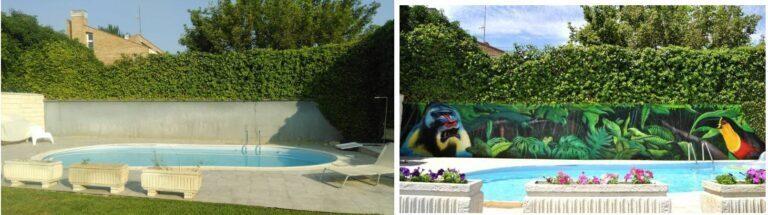 graffiti piscina en zaragoza