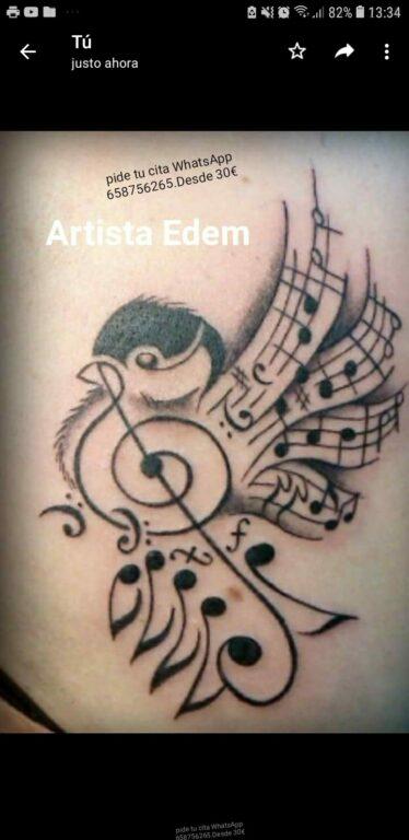El pájaro de la música