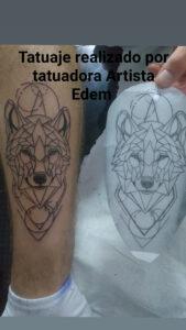 Tatuajes de Animales - Tatuaje: Lobito