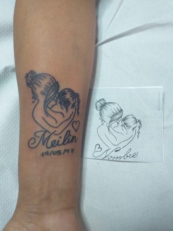 Tatuaje amor de madre