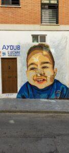 Graffiti comercial en Málaga - Ayoub