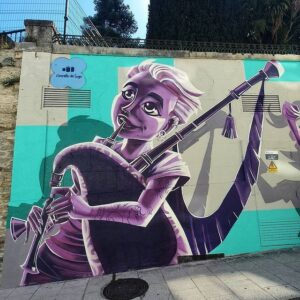 Graffiti profesional Ferrol - Graffiti gaitera en Lugo